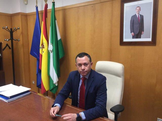 El delegado de Desarrollo Sostenible en de la Junta en Huelva, José Enrique Borrallo.