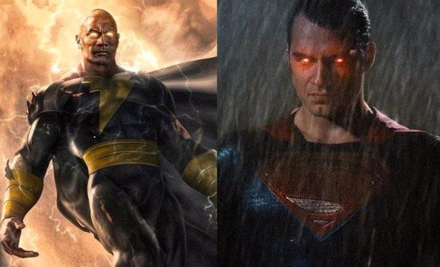 Dwayne Johnson explica la gran diferencia entre Superman y Black Adam y sus poderes
