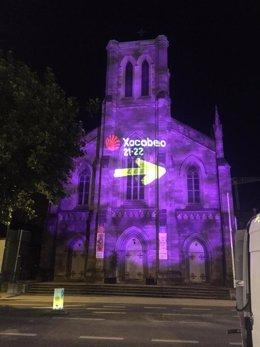 Xacobeo.-Monumentos de Reino Unido, Irlanda y Polonia se iluminan con el Xacobeo 2021-22 en la semana del Día de Galicia
