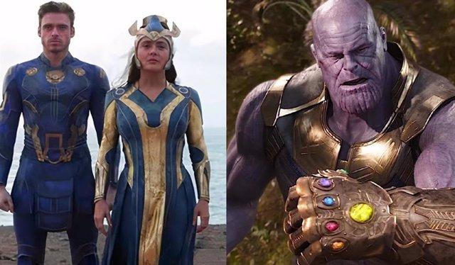 Revelada la conexión entre Thanos y Eternals en las películas Marvel