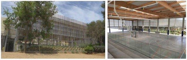 El CEM Guineueta de Barcelona estrena nova pista poliesportiva
