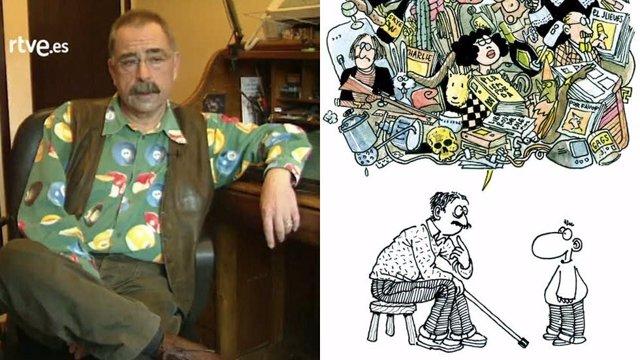 El dibuixant Carlos Romeu