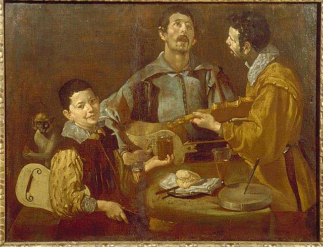 'Tres Músicos', Cuadro De Velázquez.