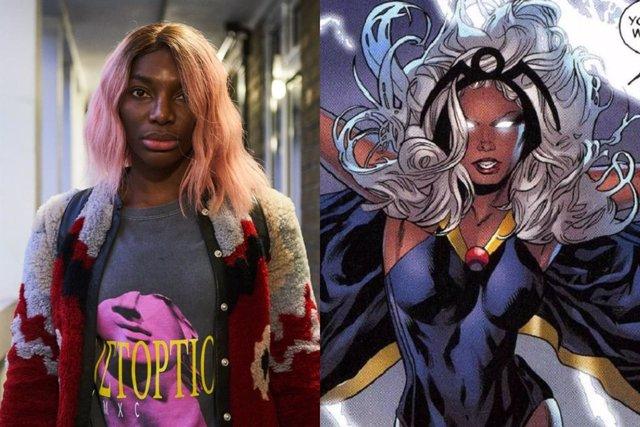 Así luce Michaela Coel como Tormenta en Black Panther 2: Wakanda Forever