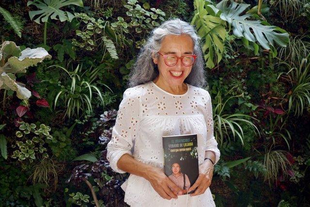L'escriptora i traductora mexicana Cristina Rivera a Barcelona