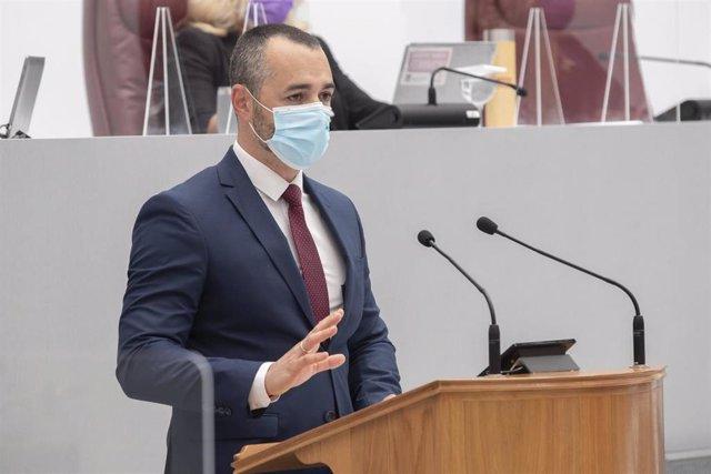 El diputado del PP, Juan Antonio Mata