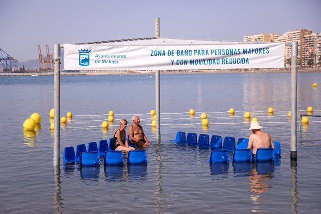 Baño accesible en Málaga