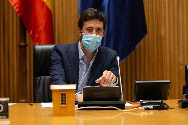 O secretario xeral de Podemos Galicia, Antón Gómez-Reino.