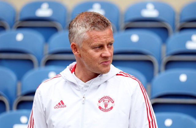 24 July 2021, United Kingdom, London: Manchester United manager Ole Gunnar Solskjaer is pictured ahead of the pre-season friendly match at the Kiyan Prince Foundation Stadium. Photo: Steven Paston/PA Wire/dpa