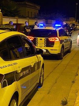 Intervención policial en Sueca