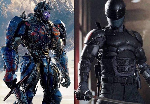 """El crossover entre G.I. Joe y Transformers es """"inevitable"""""""