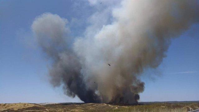 Incendio de Villarrasa
