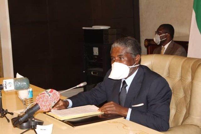 Archivo - Teodoro Nguema Obiang, vicepresidente de Guinea Ecuatorial e hijo del mandatario del país, Teodoro Obiang Nguema
