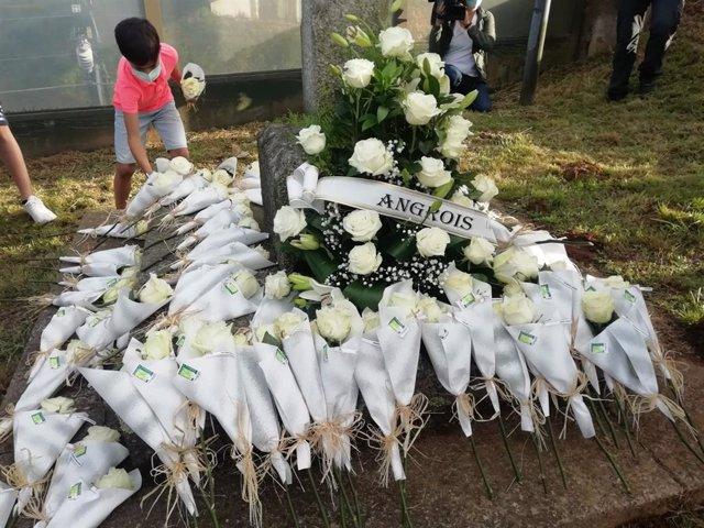 Homenaxe ás vítimas do accidente do Alvia