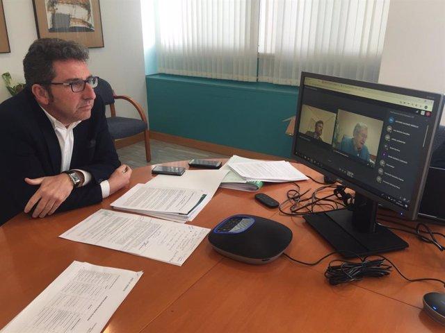 Archivo - El delegado de Agricultura en Huelva, Álvaro Burgos.