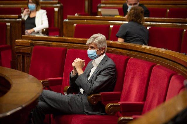 El conseller de Salud de la Generalitat, Josep Maria Argimon