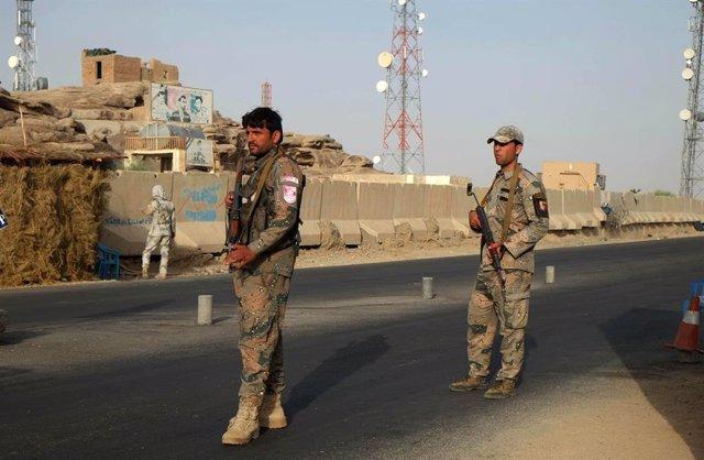 Militars a Kandahar, l'Afganistan