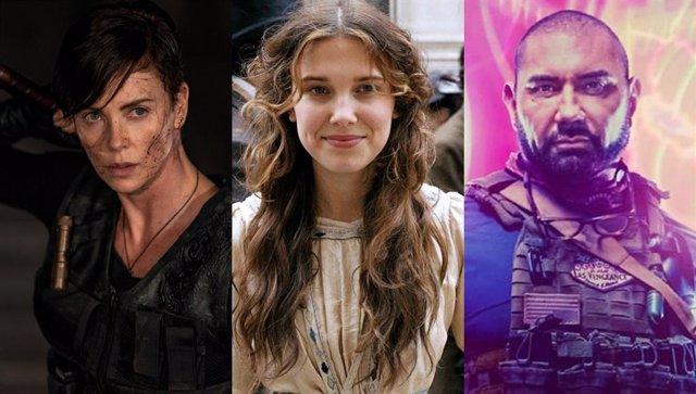 Las 10 películas de Netflix más vistas en todo el mundo