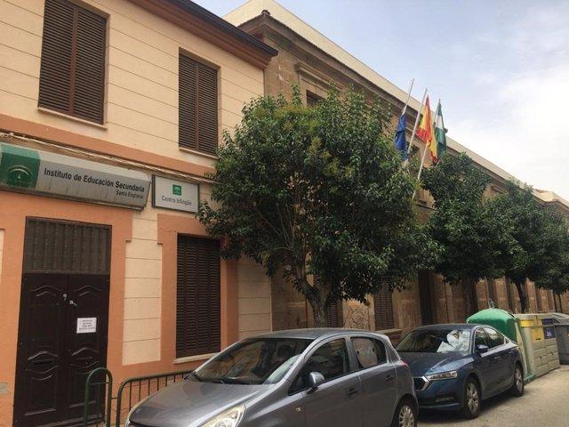 Educación invierte 545.000 euros en la reforma del edificio del IES Santa Engracia de Linares (Jaén)
