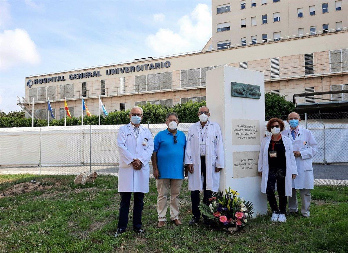 Récord de trasplantes en el Hospital General de Alicante: ocho en 72 horas gracias a más de 200 profesionales sanitarios