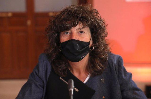 La consellera Acció Climàtica, Alimentació i Agenda Rural de la Generalitat, Teresa Jordà