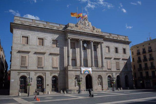 Archivo - Arxivo - Façana de l'Ajuntament de Barcelona (ARXIU)