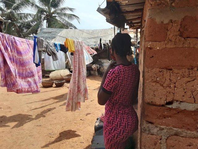Archivo - Arxivo - Imatge d'arxiu d'una jove de Sierra Leone