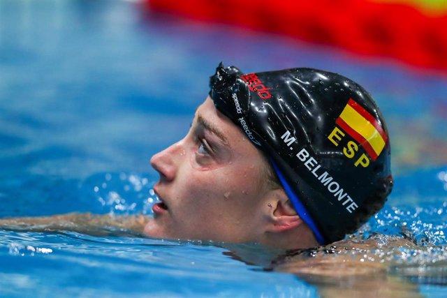 Archivo - Arxivo - La nedadora espanyola Mireia Belmonte