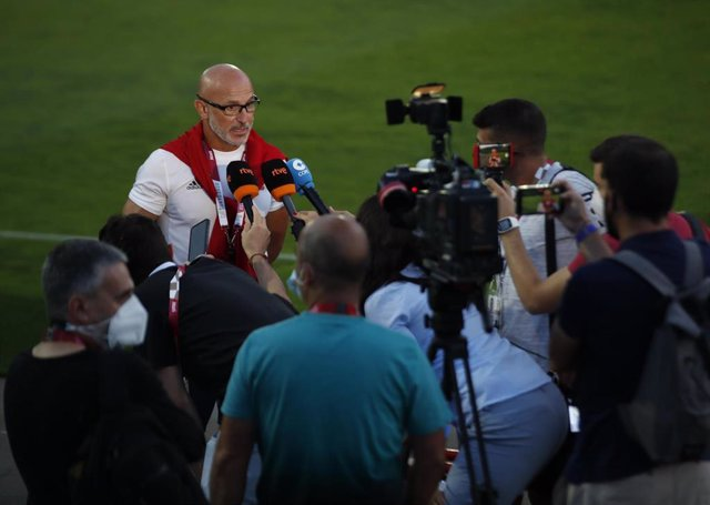 El seleccionador olímpico español de fútbol, Luis de la Fuente