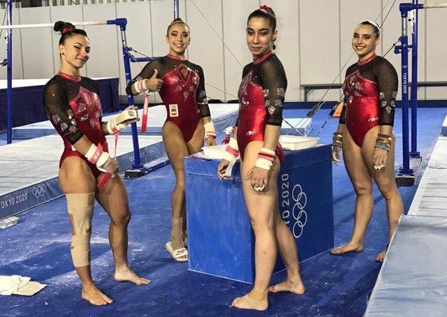 Equip femení olímpic de gimnàstica artística