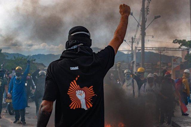 Manifestaciones en Colombia.