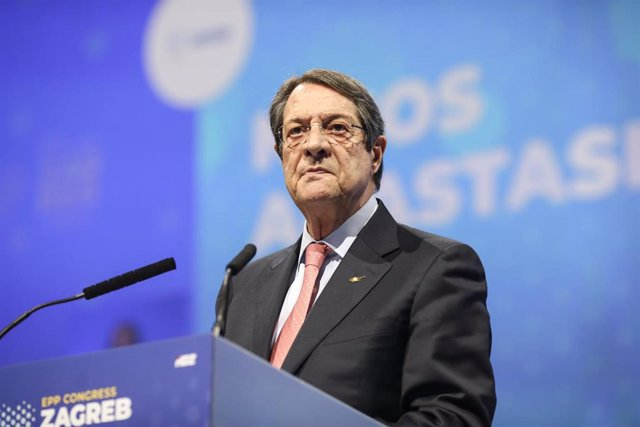 Archivo - Nicos Anastasiades, presidente de Chipre