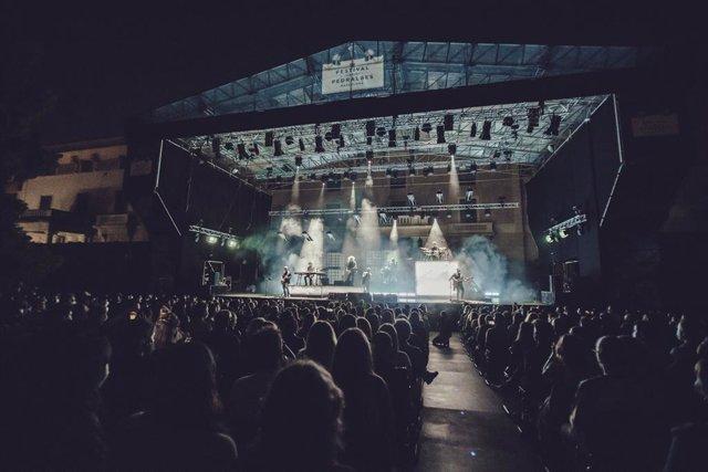 Concert en el Festival Jardins Pedralbes
