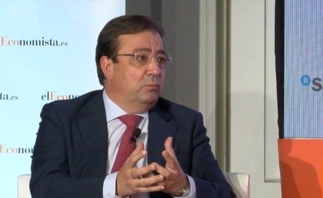 El presidente de la Junta de Extremadura, Guillermo Fernández Vara, en una imagen de archivo