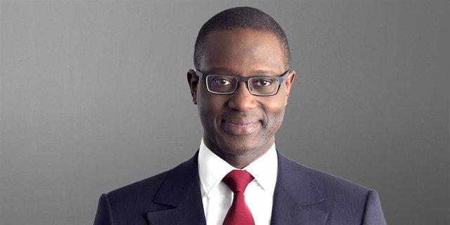 Archivo - Tidjane Thiam, ex consejero delegado de Credit Suisse