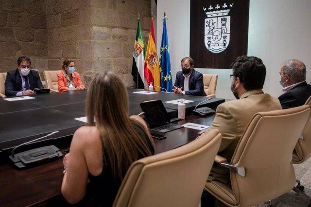 Constitución del Consejo de Concertación Social y Económica de Extremadura