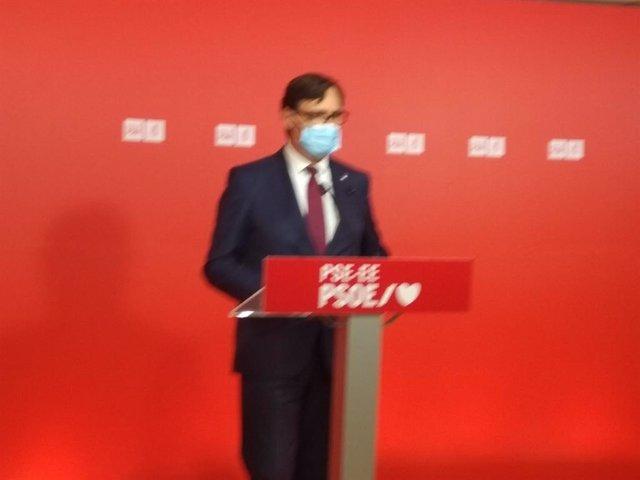 El president del Grup Socialista al Parlament de Catalunya, Salvador Illa