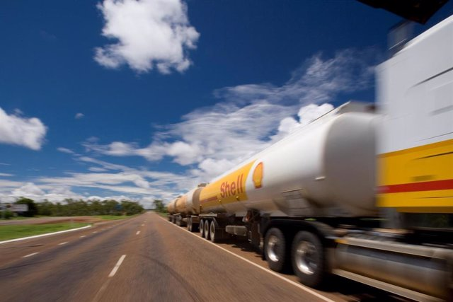 Camión Shell , Mount Isa, Australia, 2009.
