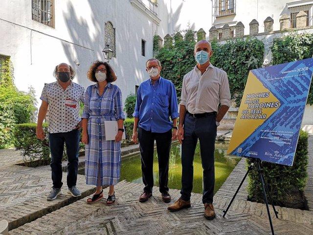 Presentación de las 'Noches en los Jardines del Alcázar'