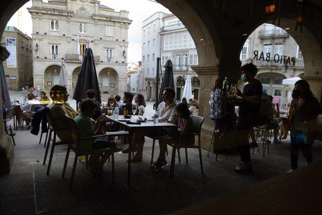 Bares y restaurantes en el casco histórico de Orense