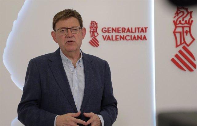 El 'president' de la Generalitat, Ximo Puig