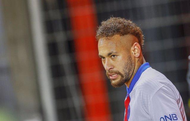Archivo - Arxiu - L'exjugador blaugrana Neymar da Silva Santos Júnior