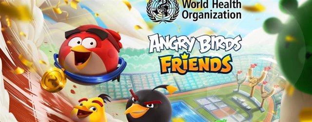 La OMS, Angry Birds Friends y Rovio Entertainment lanzaron un torneo para animar a la población a realizar ejercicio