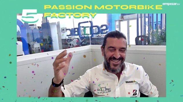 Passion Motorbike recibe su premio