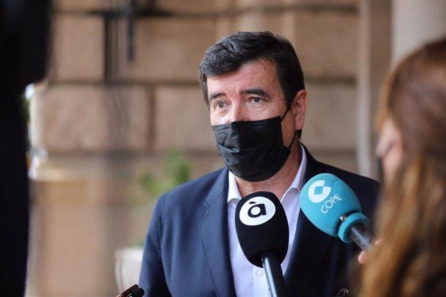 El pprtavoz de Cs en el  Ayuntamiento de València, Fernando Giner.