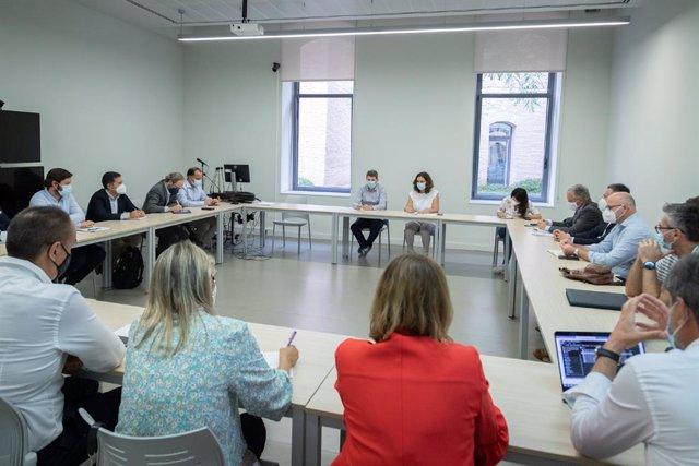 Reunió de la Generalitat amb el sector fotovoltaic