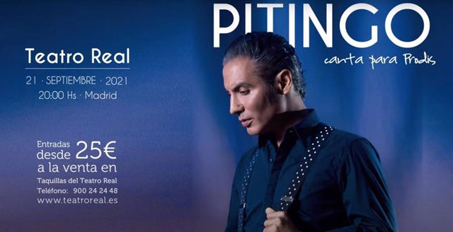 La Fundación Prodis anuncia un concierto solidario del artista Pitingo en el Teatro Real el próximo 21 de septiembre, donde cantará a beneficio de la Fundación para mejorar el futuro de muchas personas con discapacidad intelectual.