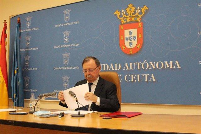 Archivo - Juan Jesús Vivas, presidente de Ceuta