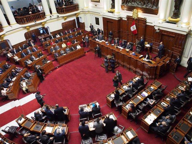 Imagen de archivo del Congreso de Perú