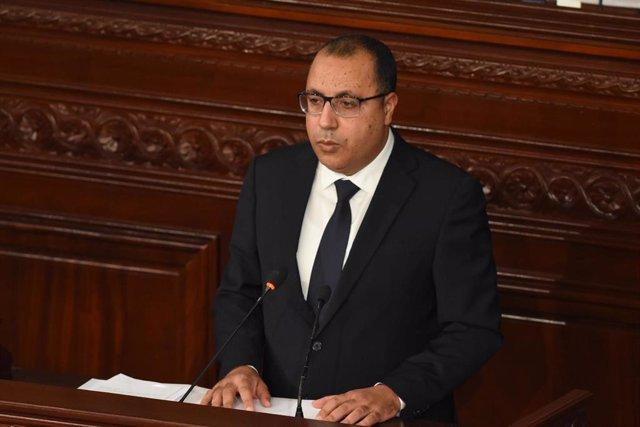 El exprimer ministro de Túnez Hichem Mechichi.